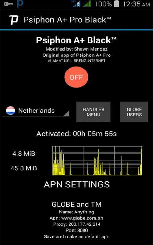 Intolerable hulks : Psiphon pro lite vpn app for android