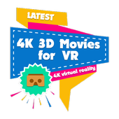 4K 3D Movies for VR icon