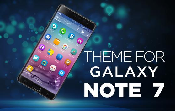 Smart Galaxy Launcher - Classic Note 8 Launcher poster