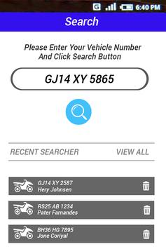 How to Find RTO Vehicle Information poster