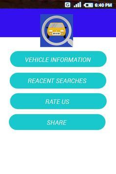 RTO Vehicle Information apk screenshot