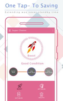 Super Power Cleaner - Clear Cache & Speed Up Phone poster