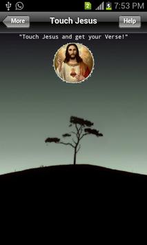 Touch Jesus poster