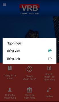 VRB Mobile Banking screenshot 2
