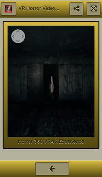 VR Horror Videos 360º screenshot 15