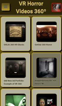 VR Horror Videos 360º screenshot 1