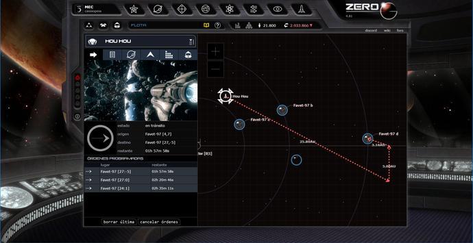 ZeroG Commander - Cassiopeia poster