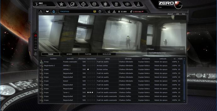 ZeroG Commander - Cassiopeia screenshot 13