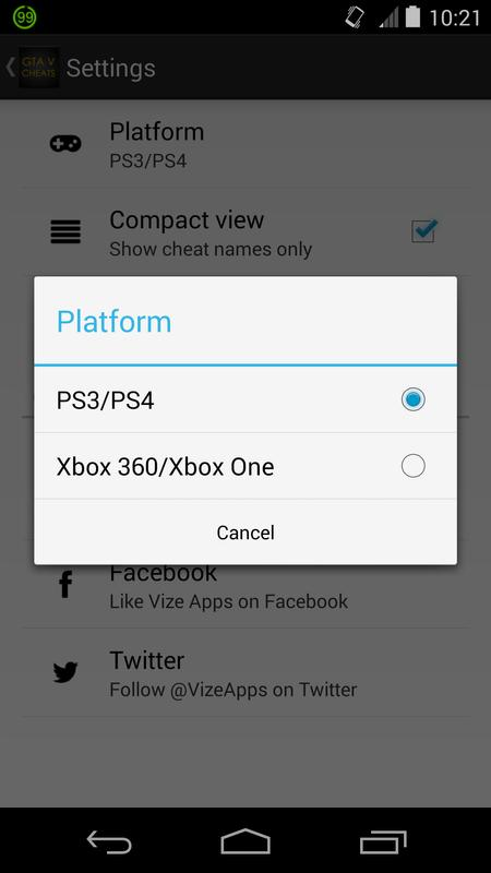 Cheats for GTA 5 (PS4 / Xbox) APK Baixar - Grátis Entretenimento Aplicativo para Android ...