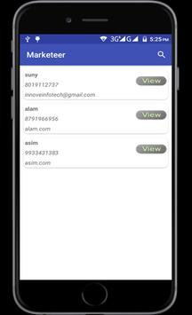 Marketeer apk screenshot