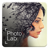 Photo Lab Picture Editor: face effects, art frames أيقونة