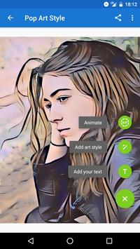 Photo Lab Picture Editor: face effects, art frames ảnh màn hình apk