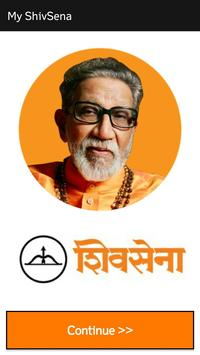 My ShivSena poster