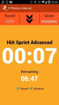 FiThletics Interval Wear apk screenshot