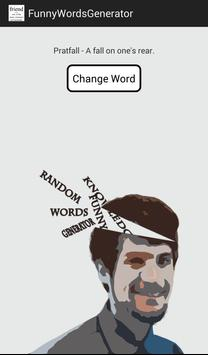 Funny Word Generator poster