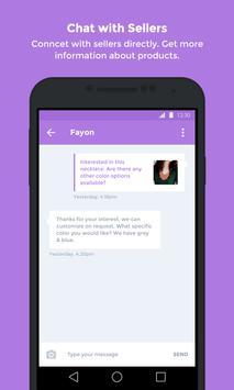 Chat & Shop - Fashion Products screenshot 1