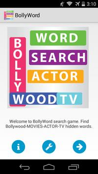 BollyWord Search apk screenshot