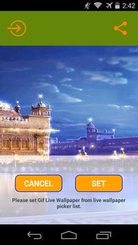 GoldenTemple Live Wallpaper apk screenshot
