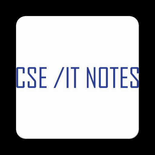 CSE and IT Notes poster