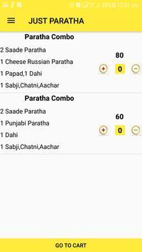 just paratha screenshot 2