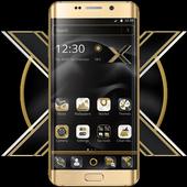 Black Gold X Launcher icon