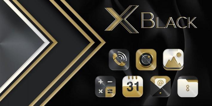 Black Gold X Launcher screenshot 3