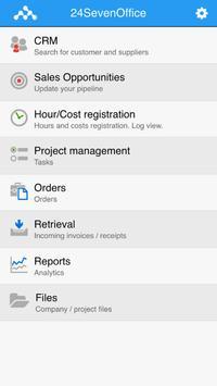 24SevenOffice apk screenshot
