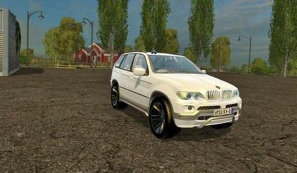 X5 Car Drive Simulator poster