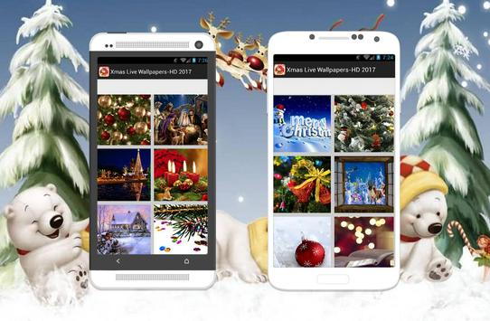 Xmas Live Wallpaper-HD Free screenshot 1
