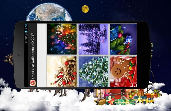 Xmas Live Wallpaper-HD Free screenshot 3
