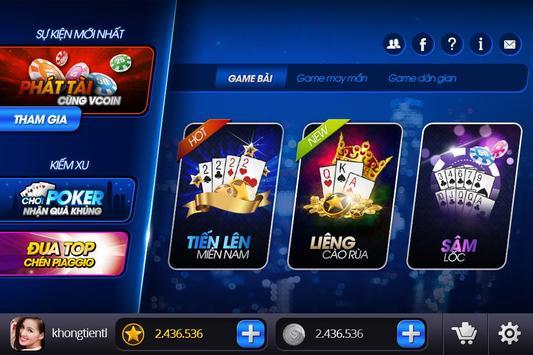 Vua Choi Bai – Xóc đĩa online screenshot 2