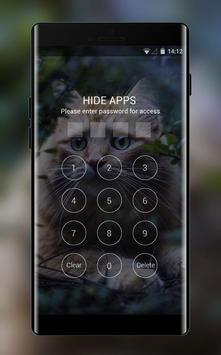 Theme for Xolo X910 Cat Wallpaper screenshot 2
