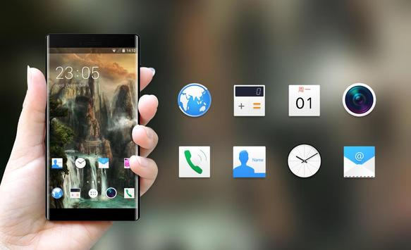 Theme for Xolo A550s IPS Fantasy Landscape apk screenshot