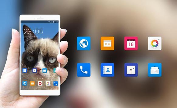 Theme for Xolo Play 8X-1100 Grumpy Cat Wallpaper apk screenshot