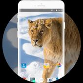 Theme for Xolo Q2500 Lion Wallpaper icon
