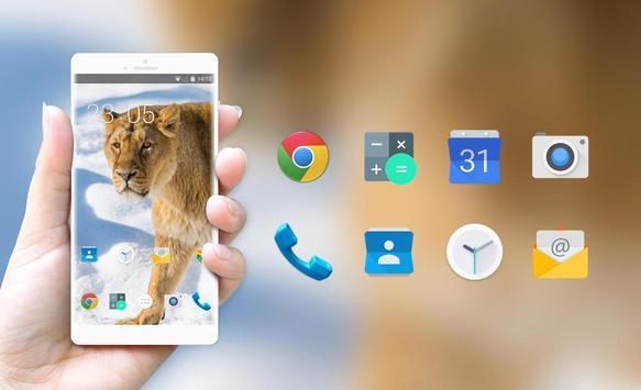 Theme for Xolo Q2500 Lion Wallpaper apk screenshot