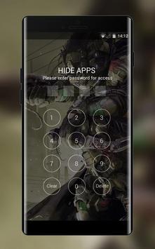 Theme for Xolo Q610s Gear Machine Wallpaper screenshot 2