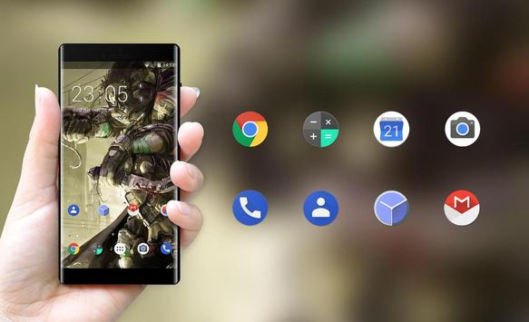 Theme for Xolo Q610s Gear Machine Wallpaper apk screenshot
