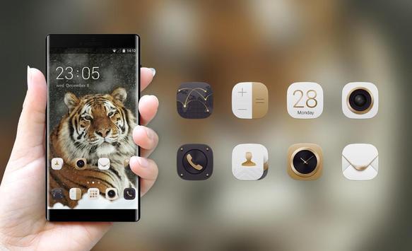 Theme for Xolo Q900 Tiger Wallpaper screenshot 3