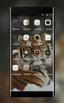 Theme for Xolo Q900 Tiger Wallpaper screenshot 1