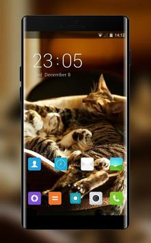 Theme for Xolo 8X-1000 Cat Wallpaper poster