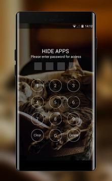 Theme for Xolo 8X-1000 Cat Wallpaper apk screenshot