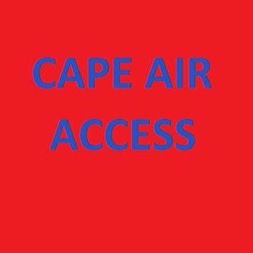 Cape Air Access poster
