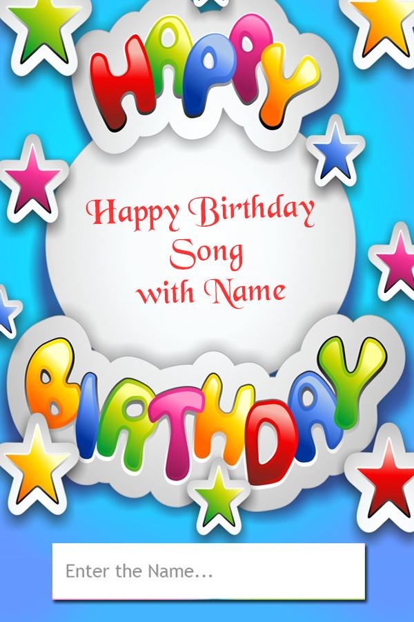 Birthday Song With Name - Happy Birthday Songs for Android
