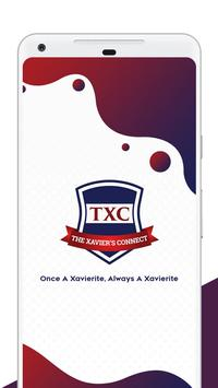 The Xavier's Connect (TXC) poster
