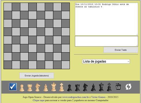 Xadrez OnLine Brasil screenshot 2