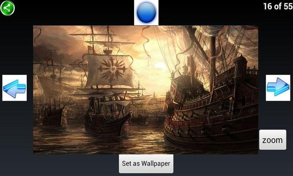 Pirate Ships Wallpapers poster