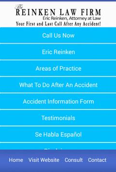 Reinken Law Firm apk screenshot