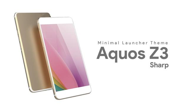 Launcher Theme For Sharp Aquos Z3 poster