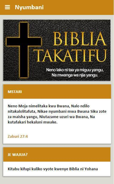 Biblia Kiswahili For Android Apk Download